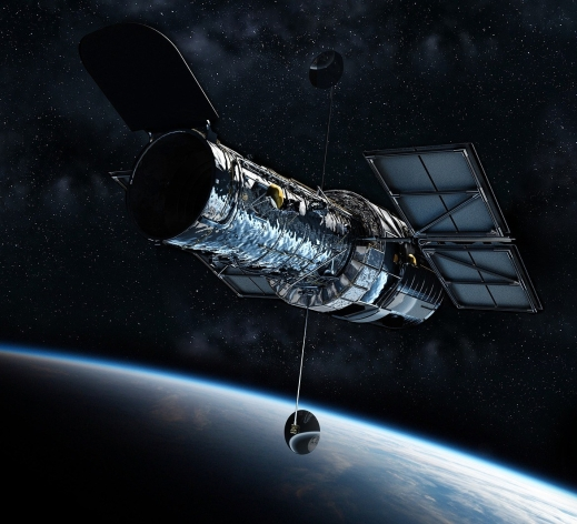 Hubble Space Telescope is a Reflecting kind of telescope